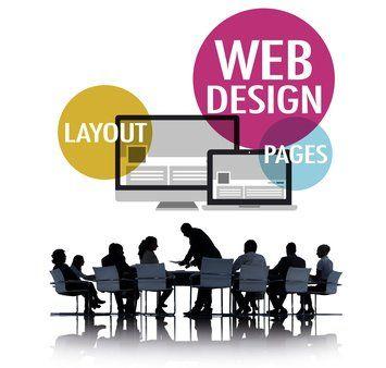 Präsentation Webdesign, Layout, Pages